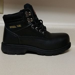Mens Steal Toe Work Boots
